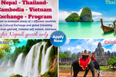 International Youth Exchange 2018 – Nepal Thailand Cambodia Vietnam