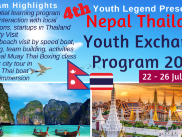 4th Nepal Thailand Exchange Program – NTEP 2019
